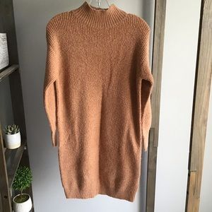 Debut Orange Sweater Dress
